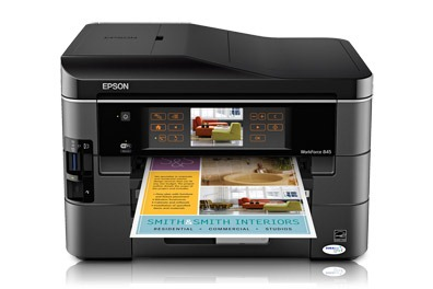 Epson Workforce 845 printer
