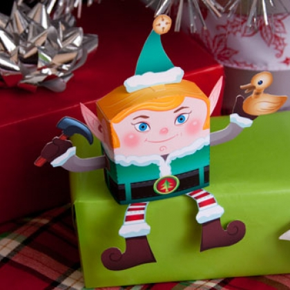 elf decoration.