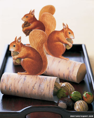squirell decoration.