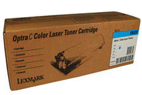 Lexmark Optra Cpro cyan cartridge