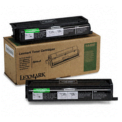 Lexmark Optra K black toner cartridge