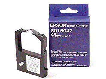 Epson Actionprinter 2250 S015047 black ribbon