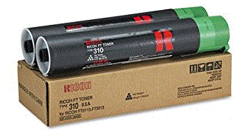 Ricoh FT-3132 black (type 310) 2-pack toner