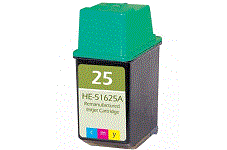 HP Deskwriter 550c color 25 Tri-Color inkcartridge