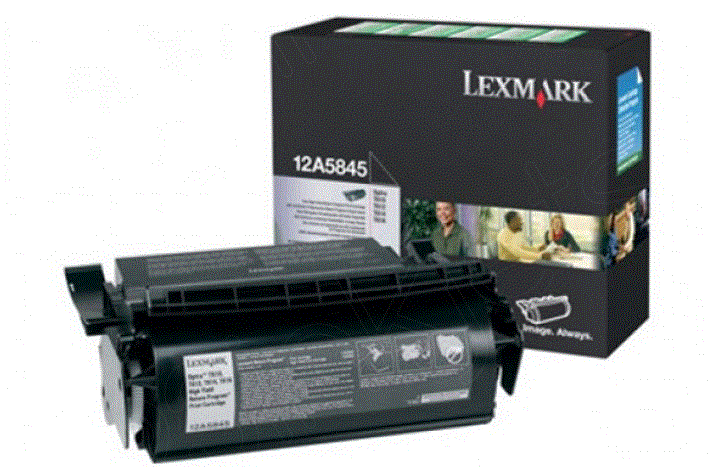 Lexmark 12A5845 and 12A5840 12A5845 cartridge
