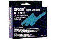 Epson Dot Matrix Printer LQ-860 7763 color ribbon