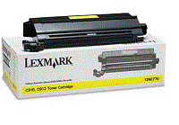 Lexmark C910in yellow cartridge