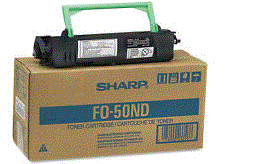 Sharp FO-4970 black toner cartridge