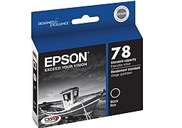 Epson Stylus Photo RX595 black 78 cartridge