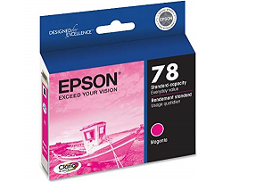 Epson Stylus Photo RX595 magenta 78 cartridge