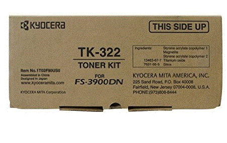 Kyocera-Mita FS-4000 TK-332 cartridge