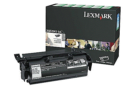 Lexmark X654DE X651H11A cartridge