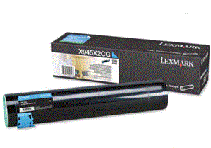 Lexmark X940e cyan X945X2CG cartridge
