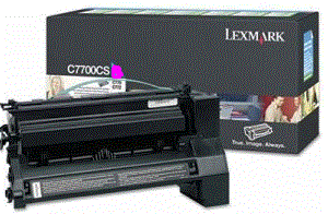 Lexmark C782dn XL C782X1MG magenta cartridge