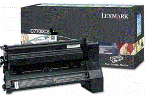 Lexmark C782dn XL C780A1CG cyan cartridge