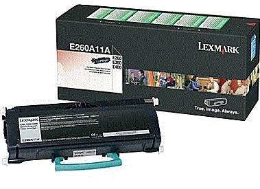 Lexmark E462dtn E260A11A cartridge