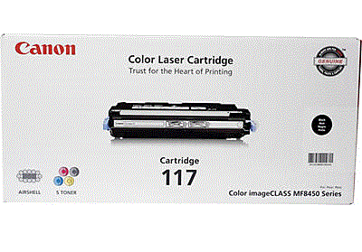Canon imageCLASS MF8450c 117 black cartridge