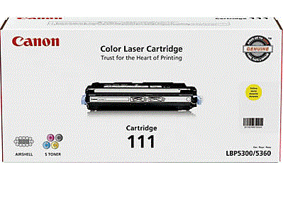 Canon imageCLASS MF9150c 111 yellow cartridge