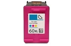 HP Deskjet F2418 color 60XL ink cartridge