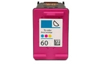 HP Deskjet F2418 color 60 ink cartridge