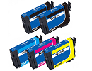 Epson 254XL 5 pack 2 black 252xl, 1 cyan 252xl, 1 magenta 252xl, 1 yellow 252xl