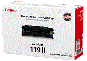 Canon imageCLASS MF5960dn Black 119 II cartridge