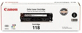 Canon 118 Series black 118 cartridge