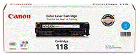Canon 118 Series cyan 118 cartridge