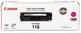 Canon 118 Series magenta 118 cartridge