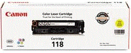 Canon 118 Series yellow 118 cartridge