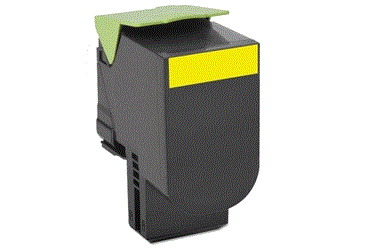 Lexmark CS510de Yellow 701 cartridge
