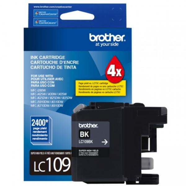 Brother MFC-J6920DW black LC109bk super high yield cartridge