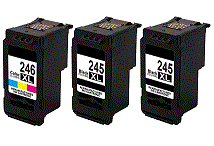 Canon Pixma MG2555 3-pack 2 black 245XL, 1 color 246XL