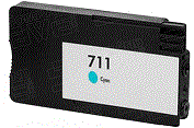 HP Designjet T120 cyan 711 ink cartridge