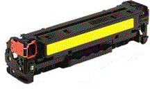 HP 410A Series yellow CF412X (410X) cartridge