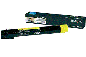 Lexmark X950 yellow X950X2MG cartridge
