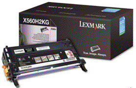 Lexmark X560N black X560H2KG cartridge