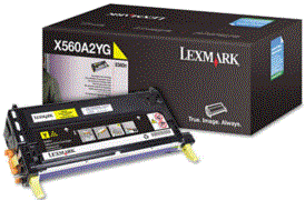 Lexmark X560N yellow X560H2YG cartridge