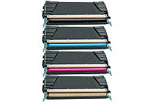 Lexmark C736dn 4 pack cartridge