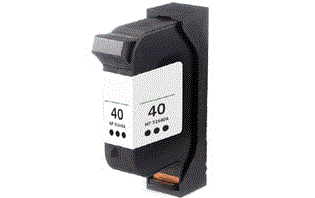 HP Copyjet black 40 ink cartridge