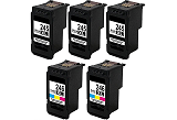 Canon Pixma MG2555 5-pack 3 black 245XL, 2 color 246XL