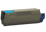Okidata C6100HDN 43324419 cyan cartridge