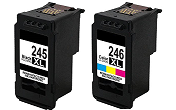 Canon Pixma MG2555 2-pack 1 black 245XL, 1 color 246XL