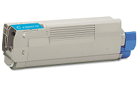 Okidata MC560 Plus 43865719 cyan cartridge
