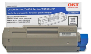 Okidata MC560 Plus 43865720 black cartridge