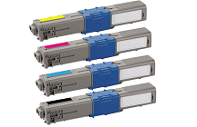 Okidata C530DN 4-pack cartridge