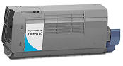 Okidata C710N 43866103 cyan cartridge