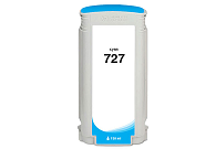 HP DesignJet T2500 727 cyan ink cartridge, (B3P19A)