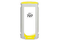 HP DesignJet T2500 727 yellow ink cartridge, (B3P21A)