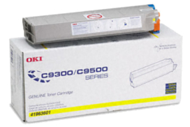 Okidata C9500 41963601 yellow cartridge
